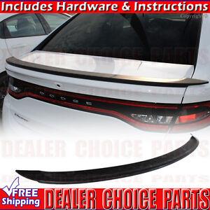 2013 2014 2015 2016 Dodge Dart MATTE BLACK Factory Style Spoiler Wing Rear Trunk
