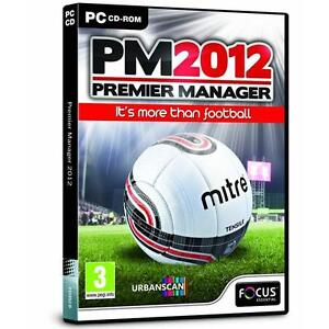 PM 2012 Premier Manager PC NEW & SEALED