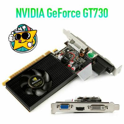 Heimcomputer für NVIDIA GeForce GT730 2 GB DDR3 DVI VGA HDMI-Grafikkarte fw1