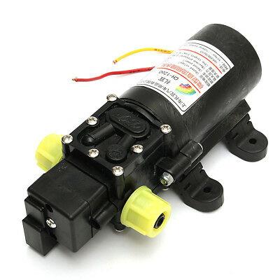 12v High Power Electric Auto Diaphragm Water Pump 5lmin 100 Psi Pressure Switch
