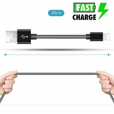 Lightning USB Kabel für Apple iPhone iPad iPod Ladekabel Datenkabel Kurz 20 cm Apple Iphone Usb