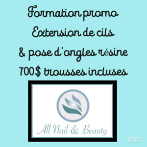 Formation en promotion chez All Nail and Beauty