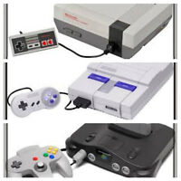 WANTED:  Nintendo Consoles & more