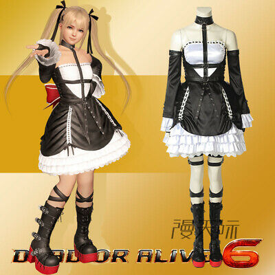 DOA6 Dead or Alive 6 rose marie Cosplay Kostüm Outfit Costume Game Spiel (Dead Or Alive Cosplay Kostüme)
