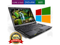 CHEAP HP COMPAQ 6510b LAPTOP/ 2GB RAM/ 160GB / 14.1 / WIFI / WINDOWS 7