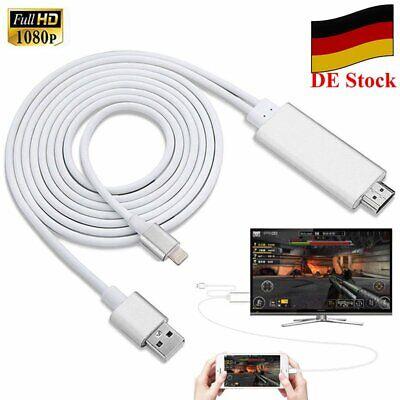Lightning To HDMI Digital AV TV Cable Adapter Für Apple iPad iPhone 7 8 X Xs XR (Ipad Hdmi Adapter Für Tv)