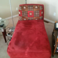 Cute Red Chaise :)