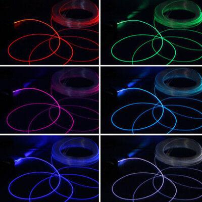 PMMA Side Glow Fiber Optic Cable 1.5~4mm Diameter 1m Length LED Lighting ()