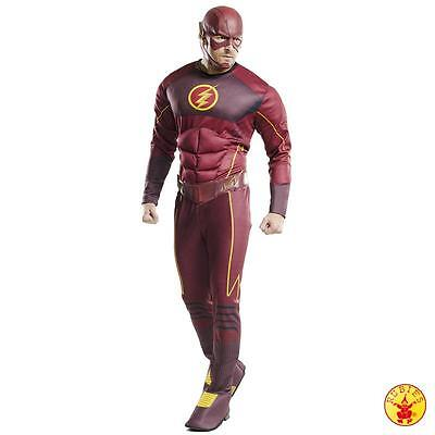 The Flash * Deluxe oder Classic Kostüm * Erwachsene * Rubies * Barry Allen (Barry Allen Kostüm)