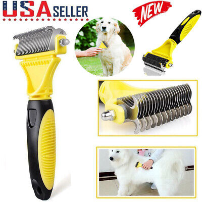 Dog Brush for Shedding-Best Cat Grooming Comb Tools Hair Pet Trimmer Clipper (Best Dog Grooming Brush)