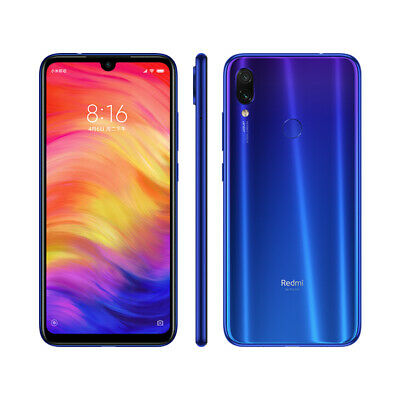 "Xiaomi Redmi Note 7 4GB 128GB Smartphone 6,3"" 48MP Azul Global Version"