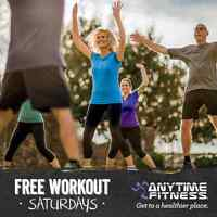 Free Workout Saturdays at Anytime Fitness Owen Sound