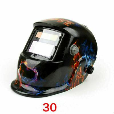 Solar Auto Darkening Welding Helmet Tig Mig Welder Lens Grinding Mask 30 Usa Z4