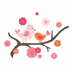 Wall stickers Décoration murale Birds on a branch baby girl room West Island Greater Montréal image 3
