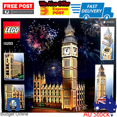 Brand New Lego Creator Big Ben 10253 4163 Pieces Expert 16  Free Post Or Pickup