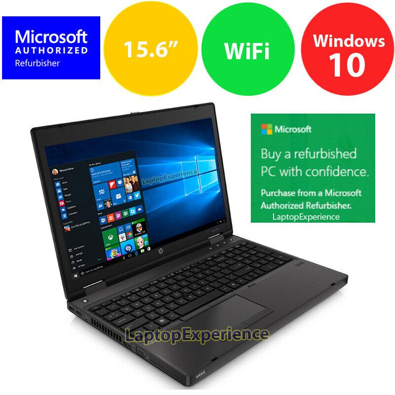 "Laptop Windows - HP ProBook 6570B LAPTOP COMPUTER DUAL CORE 2.4GHz 4GB 320GB 15.6"" Windows 10 KEY"
