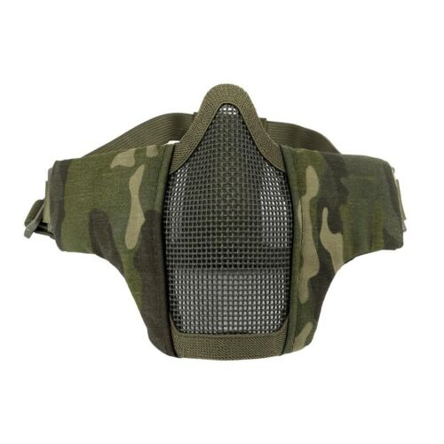 OneTigris 6 inch Airsoft Sports Half Face Mask Steel Wire Me