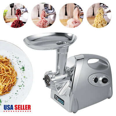 Household Electric Meat Grinder Kitchen Food Sausage Stuffer Maker Machine 800W