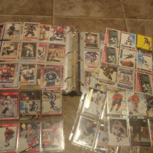 A great selection of hockey cards