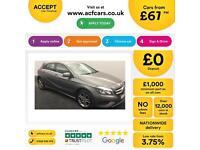 Mercedes-Benz A180 FROM £67 PER WEEK!