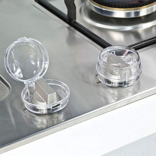 Stove Knob Cover Protector Transparent Controls For Oven Con