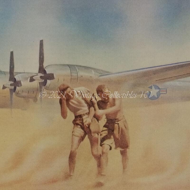 1952 CITGO Cities Service Petroleum Products Sahara photo art decor vintage ad