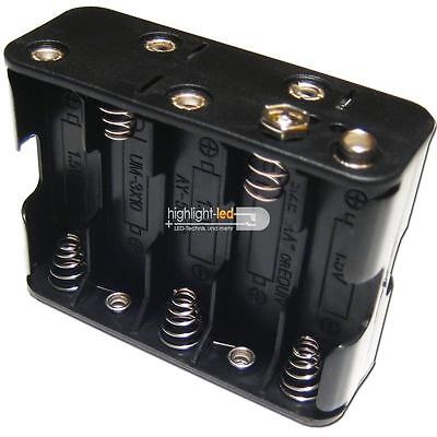 Batteriehalter 10xMignon insgesamt 12V ideal für LED, Batteriefach AA