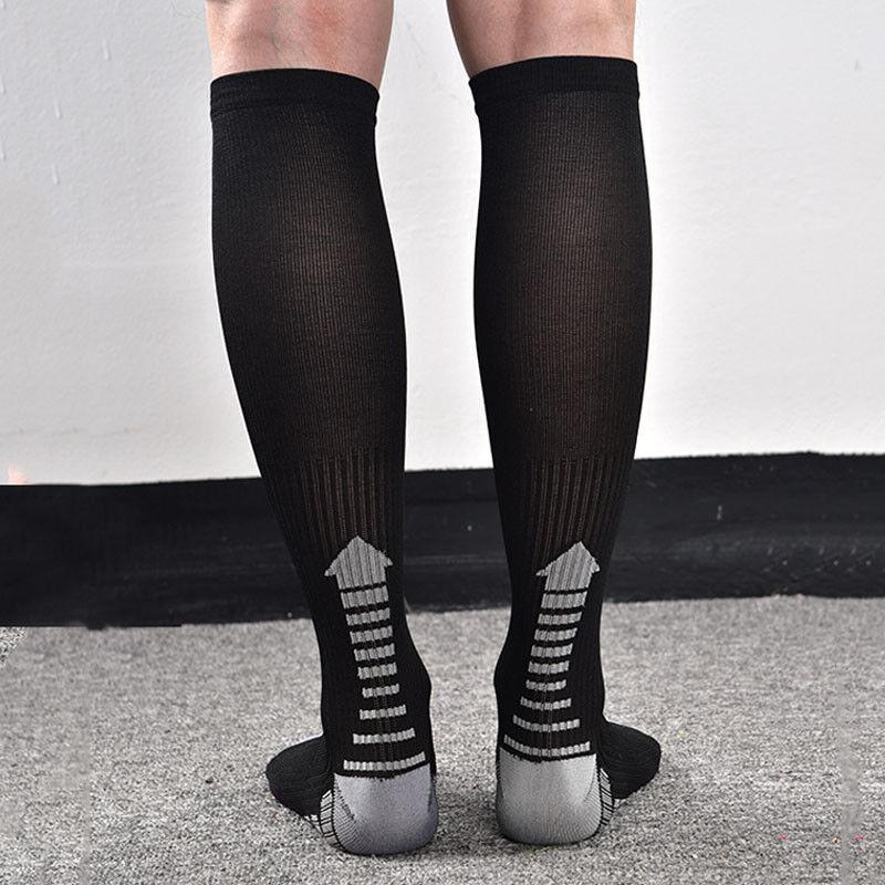 2019 New Men/'s Compression Socks Pressure Circulation Orthopedic Stocking