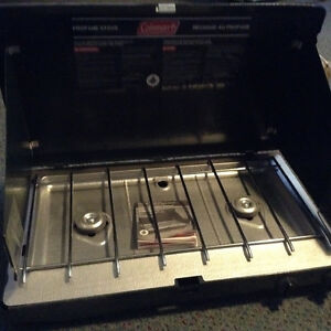New Coleman camping stove