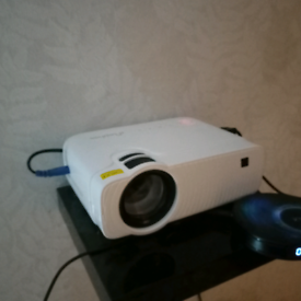 Projector screen and projector