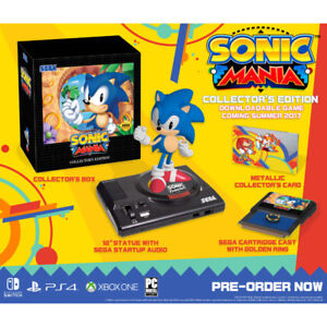 Sonic Mania Collectors Edition for PS4 - Brand new / Sealed