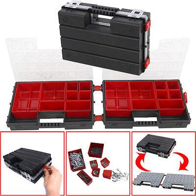 Duo Twin Sortimentskasten Sortierkasten Sortimentskiste Kleinteilebox Box Kiste