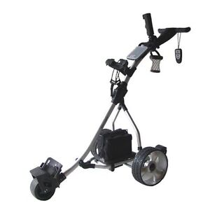 New NovaCaddy Remote Control Electric Golf Trolley Cart, S1R-Digital. Push/Pull