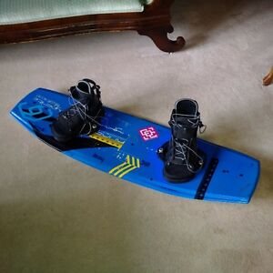 Adult Wakeboard  130 cm  Size Large bindings  $150 Firm