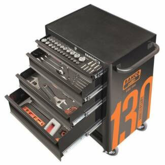 Bahco Tool Trolley Kit 5 Drawer 186 Piece - Limited Edition