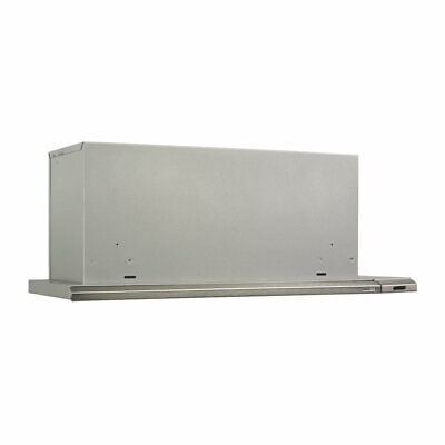 Broan 153004 Slide Out Range Hood, 30-Inch 300 CFM, Brushed Aluminum, SS look 30 Slide Out Range Hood