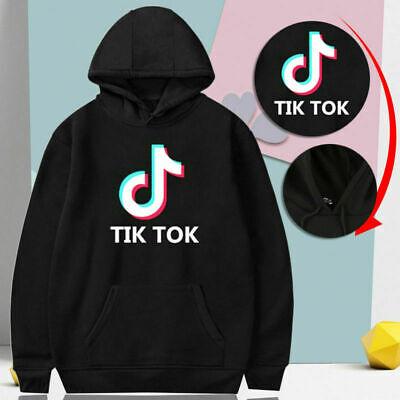 2019 Tik Tok Youth Hoodie Sweatshirt Hoody Outdoor Pulli Sweater Kapuzenpullover Youth Hoodie