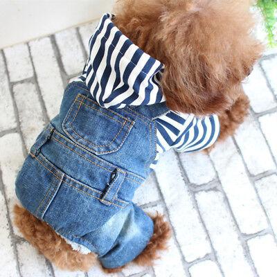 Cowboy Jacke Haustier Hund Katzen Welpen Kleidung Hemd Overall Hemd Kostüm  ()