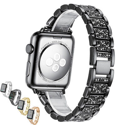 Diamond Watch Band Bling Watch Band Wrist Strap for Apple watch Series 1 2 3 (Band Bling Watch)
