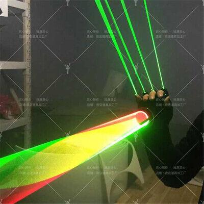 Newest Finger Laser Gloves DJ Club Dancer Stage Disco Party Show Lighting Lazer