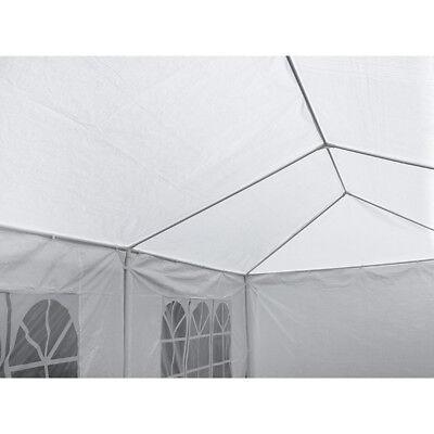 2PCS 10′ X 20′ Wedding Party Tent Gazebo BBQ Pavilion Canopy Full 6Pcs Side Wall Awnings & Canopies