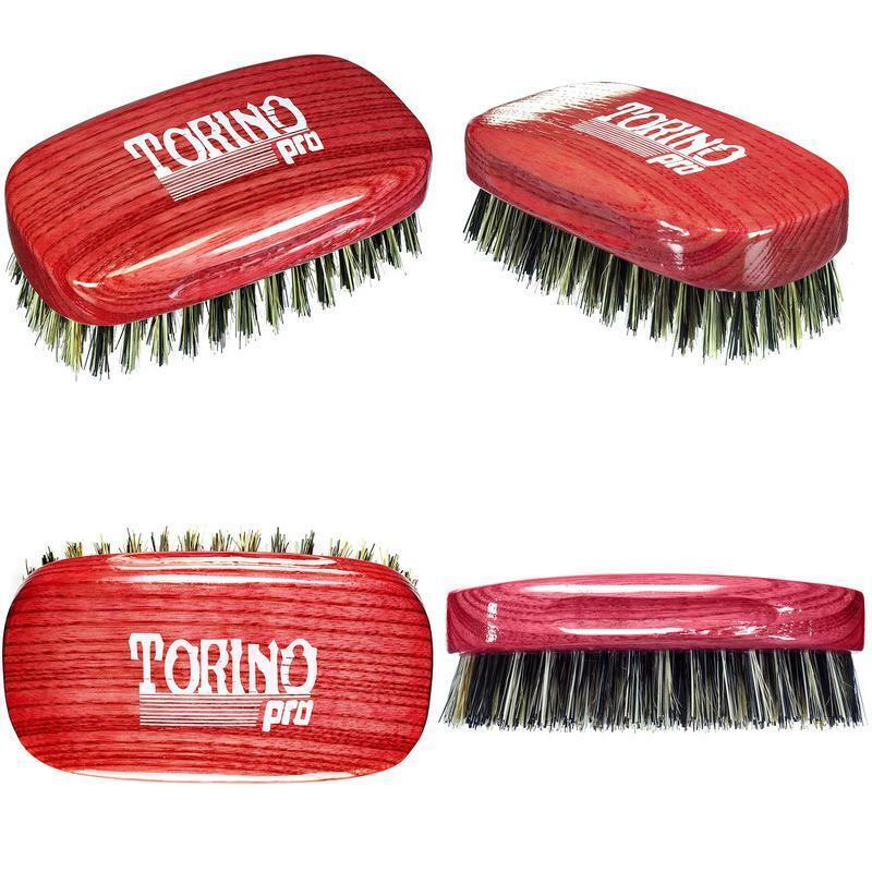 Torino Pro Wave Brushes By Brush King #28- Medium Hard Squar