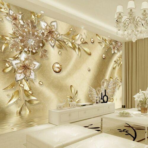 Wallpapers Living Room Vinyl Bedroom Walls Covering 3d Murals Luxury Wallpaper