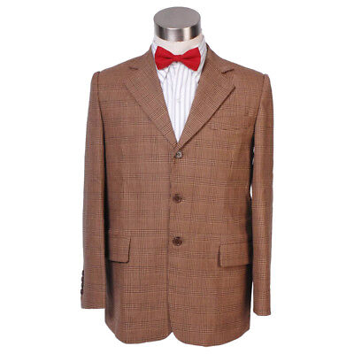 Doctor Who 11th Eleventh Doctor Cosplay Costume Jacket Suit Man Coat