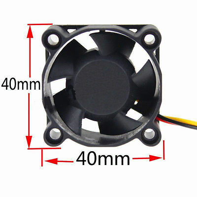 Brushless DC Cooling Fan 5 Blade 12V 40 x 40 x 20mm 4020