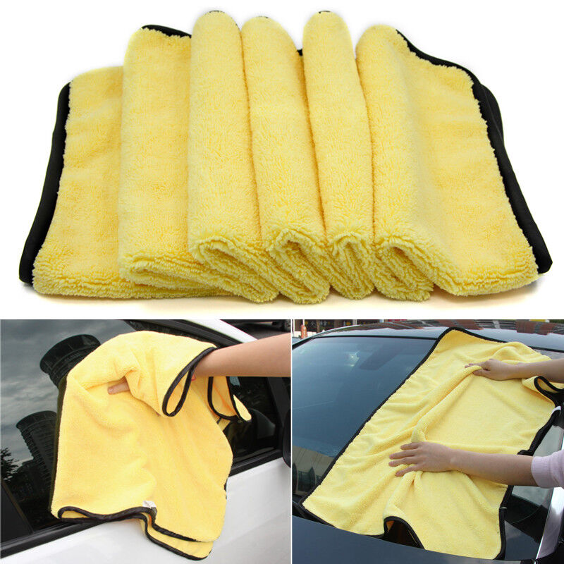38x45cm Super Absorbent Car Wash Microfiber Towel Cleaning Drying Cloth Duster