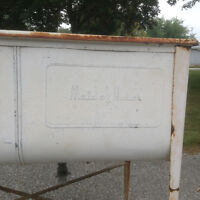 Antique Maid of Honor wash tubs