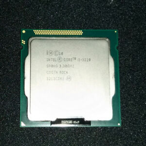 INTEL CORE i3 3220 ☆ Working pull from system upgrade ☆