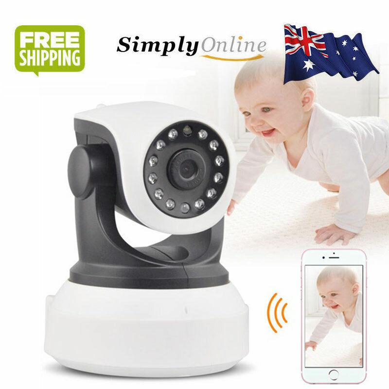 2MP Baby Monitor Camera Wireless CCTV IP HD 1080P Night Visi