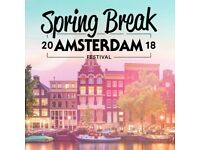 Spring Break Amsterdam Tickets 8th-11th April